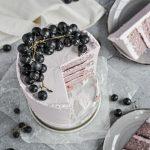 Grape layer cake